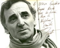 Текст и перевод песни Charles Aznavour ft. Johnny Mathis, Dean Reed - Yesterday When I Was Young